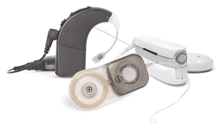 HiRes Ultra 3D cochleair implantaat met Naída CI en Neptune